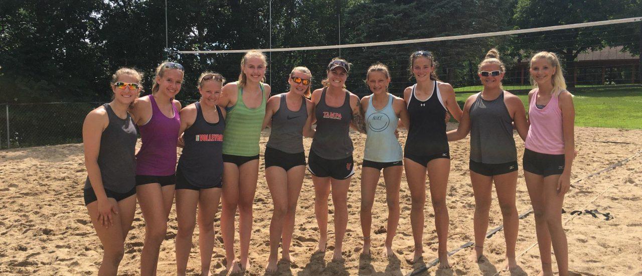 TMP Beach Volleyball Team